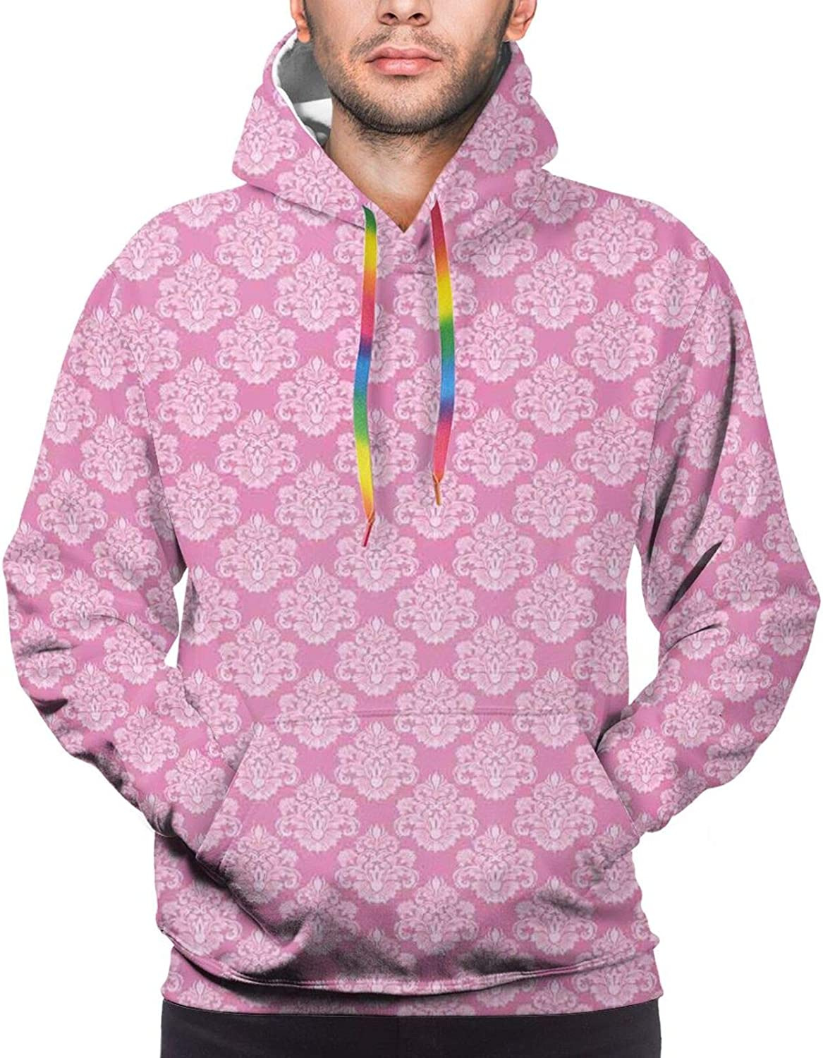 Men's Hoodies Sweatshirts,Intertwining Roads with Cars On Them Complicated Design with Urban Life Theme