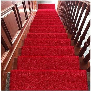 Alfombra Peldaños para escaleras Hogar Alfombra para escaleras Cintas gratis Alfombras para escaleras Peldaños para escaleras Alfombras para escaleras antideslizantes Escaleras para escaleras Las alfo: Amazon.es: Hogar