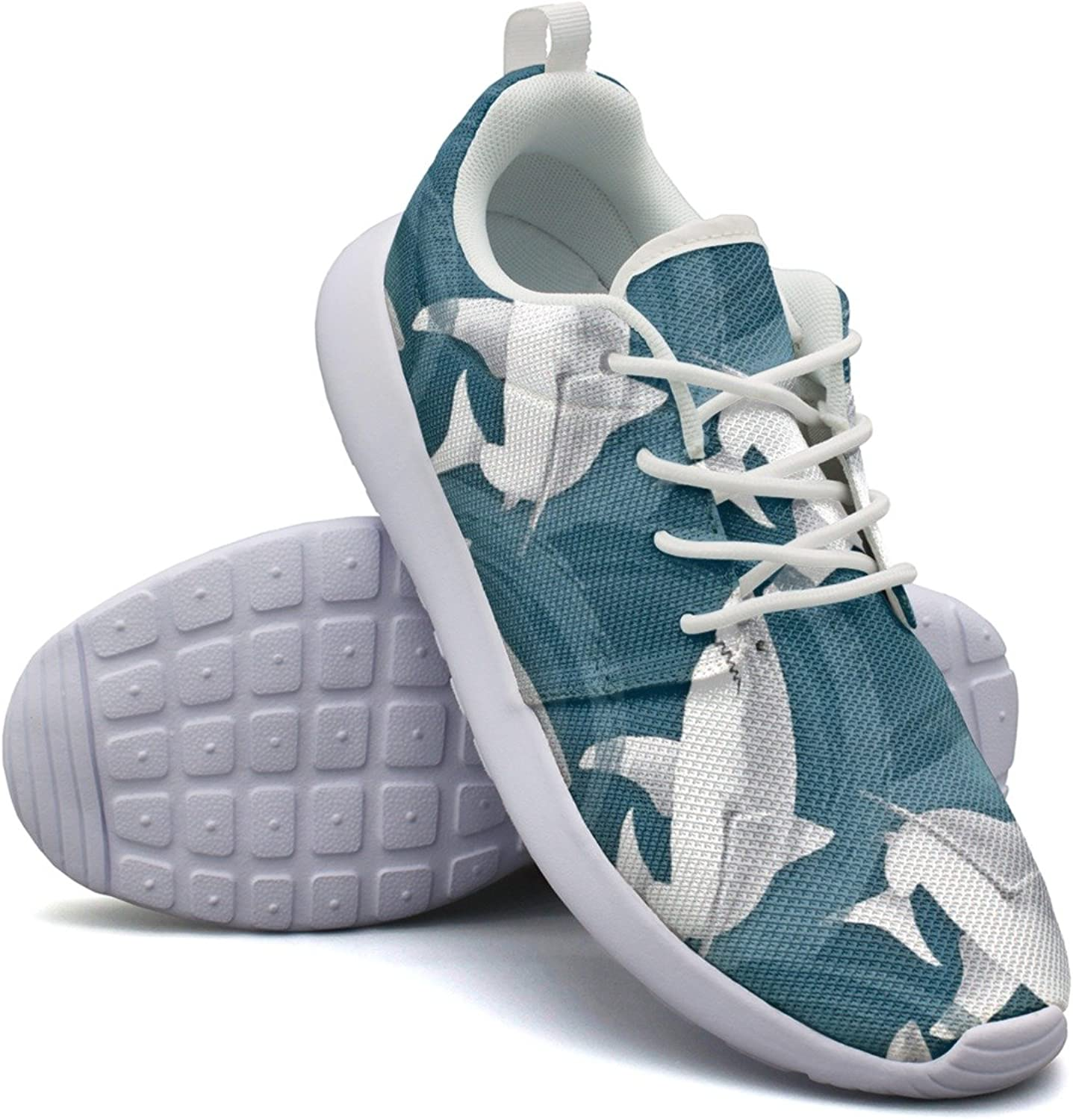 Sharks In The Waves Womans Neutral Design Running shoes Funny Active