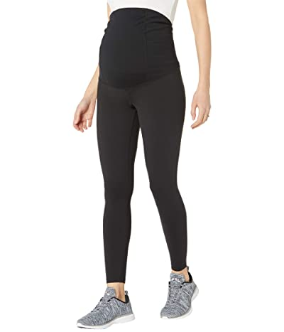 Ingrid & Isabel Maternity 7/8 Active Leggings Crossover Panel Women