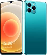 6.26in Unlocked Smartphone, IP12 PRO+ 720x1560 Cell Phone, 1+8GB Dual Card Dual Standby Phone, Face Recognition, Fingerpri...