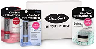 Chapstick Fall/Winter Lip Balm Seasonal Pack (6 Triple Pack - 18 Total Sticks), Cake Batter, Pumpkin Pie, Candy Cane & Two Holiday Collections - Great Gifts for Women & Men & Stocking Stuffers