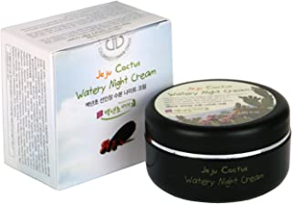 JEJU Prickly Pear Natural Night Face Cream Moisturizer, 2.03 ounc