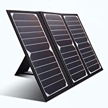 KINGSOLAR Solar Charger 21W Portable Solar Panel Charger with 2 USB Ports, Waterproof Camping Foldable Portable Solar Char...