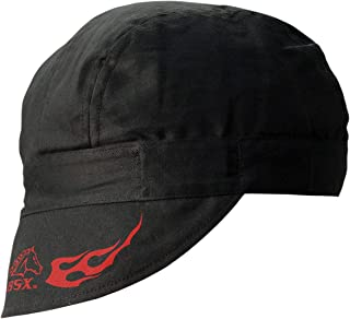 Revco REVCO - BC5W-BK Armor Cotton Welding Cap, 100% Cotton Double Layer Protection