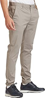 Iconic Men's 2300320 AA 14 Woven Tapered Trousers, Grey