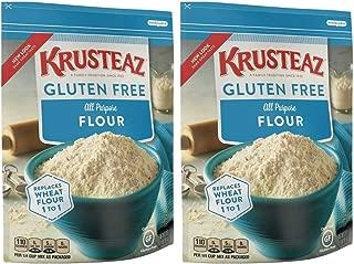 Krusteaz Gluten Free All Purpose Flour Mix, 32-Ounce Bags (2 pack)