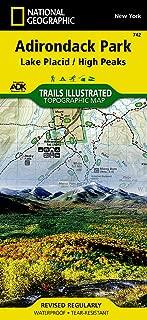Lake Placid, High Peaks: Adirondack Park (National Geographic Trails Illustrated Map (742))