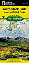 Lake Placid, High Peaks: Adirondack Park (National Geographic Trails Illustrated Map (742))