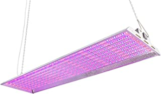 Durolux DLED848BM LED Grow Light | 4 Feet by 1 Foot | 320W (0.5 W LEDs x 640 Pcs) with Magenta 4000K FullSun Spectrum and 40000 Lux Great for Seeding and Flowering! Over 50% Energy Saving!