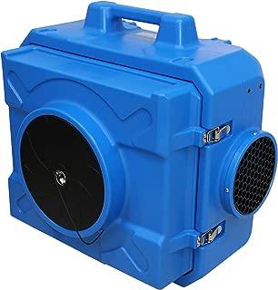 MOUNTO AF500 1/3hp 500cfm Industrial HEPA Air Scrubber Air Filtration System Dust Air Cleaner Negative Air Machine for Mold Air Purifier