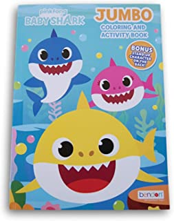 Coloring Books Pinkfong Baby Shark Jumbo Book - 80 Pages