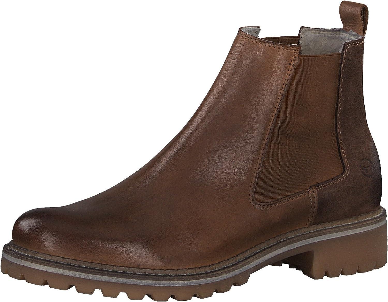 Tamaris Damen Chelsea Stiefel 25457-21,Frauen Stiefel,Halbstiefel,Stiefelette,Stiefelie,Schlupfstiefel,hoch,Blockabsatz 3cm