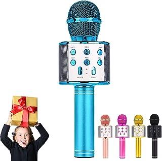 ULTRA INFINITY Wireless Microphone, Portable Cordless Mic Handheld Karaoke Family Kids Player KTV Speaker for Mother's Day...