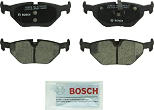 Bosch BC763 QuietCast Premium Ceramic Disc Brake Pad Set For Select BMW 318i, 318is, 323i, 325Ci, 325i, 325xi, Z4; Saab 9-5; Rear