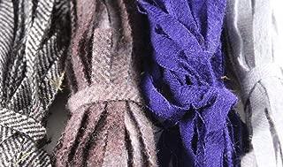 wool fabric strips