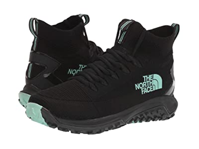 The North Face Truxel Mid (TNF Black/Beach Glass Green) Women