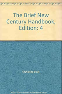 Brief New Century Handbook With Exercises 4th edition