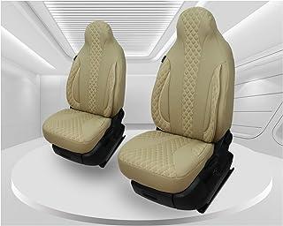 Maß Sitzbezüge kompatibel mit Fiat Ducato Typ 250 BJ ab 2006 Fahrer & Beifahrer FB:PL405 (Caramel Beige)