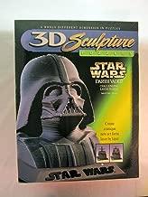 Star Wars Darth Vader 3D Sculpture Puzzle by Milton Bradley