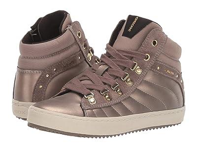 Geox Kids Jr Kalispera 22 (Little Kid/Big Kid) (Dark Gold) Girls Shoes
