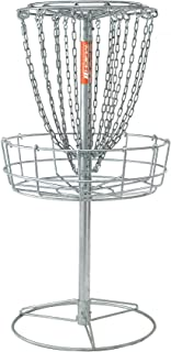 DGA Mach 2 Disc Golf Basket – Portable Heavy-Duty Outdoor Galvanized Steel Disc Golf Target