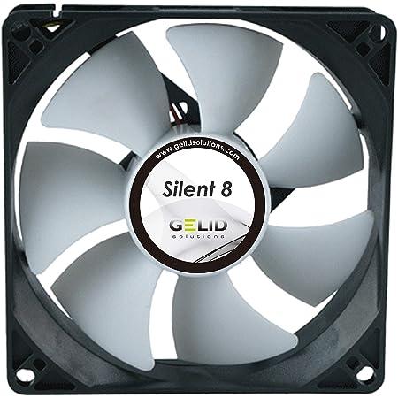 Solutions Ventilateur Silent 6-3 Broches 60mm Boîtiers Standard Silencieux