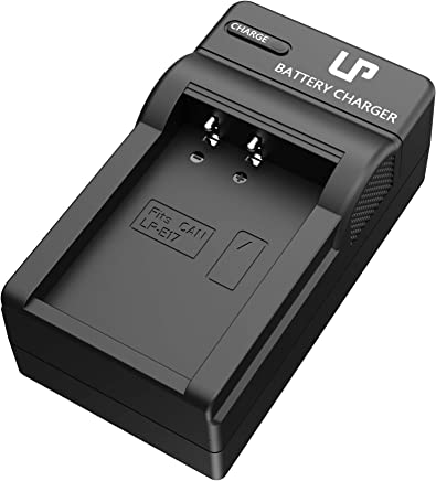 LP LP-E17 Battery Charger, Compatible with Canon EOS M3, M5, M6, 77D, 200D, 750D, 760D, 800D, 8000D, 9000D, Rebel T6s, T6i, T7i, SL2, Kiss X8i Cameras, Replacement for Canon LC-E17 Charger