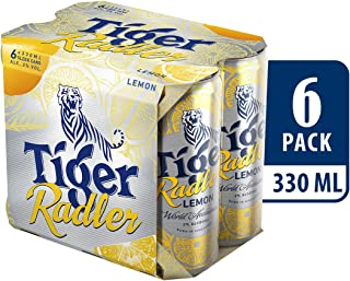 Tiger Radler Lemon Can, 330ml (Pack of 6)