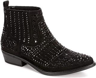 Jollene - Studded Chelsea Ankle Boots for Women