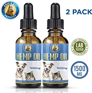 Colt's Pet Supplies Hemp Oil for Dogs and Cats [ Two Pack...