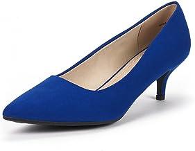 Amazon.com: Blue Kitten Heels