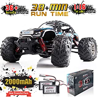Soyee 1:16 RC Cars IPX4 Waterproof Interference-Free 2.4GHz 4WD Off Road 36KM/h Remote Control Monster Truck Dune Buggy Hobby RC Toys for Boys & Adults