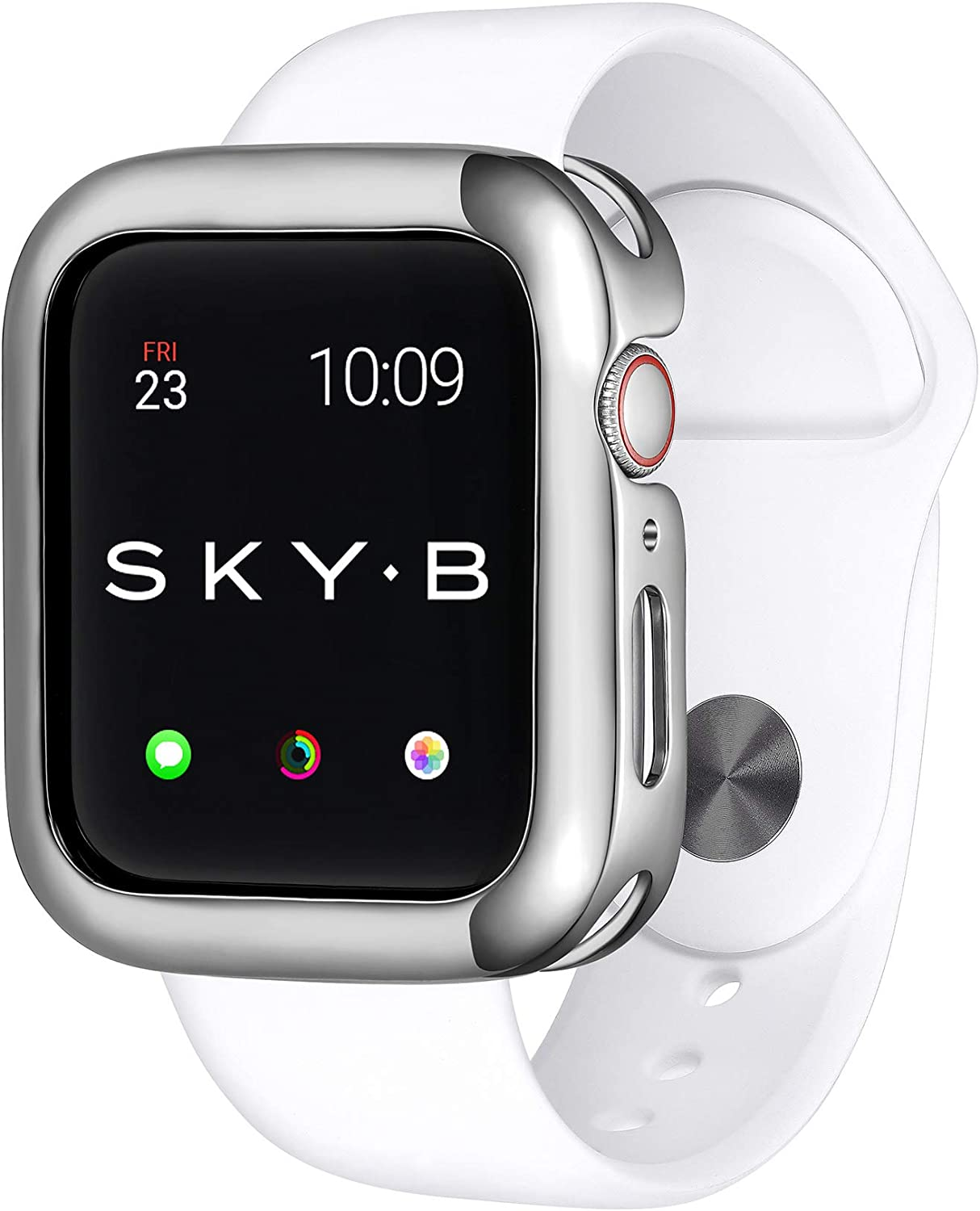 SKYB Minimalist Silver Very popular Protective Jewelry S Apple for Case New Free Shipping Watch