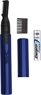 Wahl Lithium Pen Detail Trimmer With Interchangeable Heads for Nose, Ear, Neckline, Eyebrow, & Other Detailing – Rinseable...