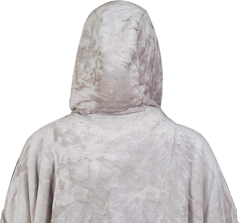 softan Couverture /à capuche en flanelle polaire