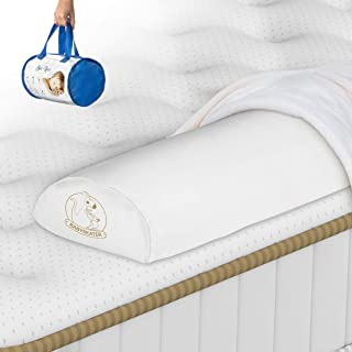 BABYSEATER Toddler Bed Rail Bumper Guard for Kids, White (1)