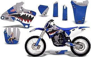 1998-2002 Yamaha YZF 250/400/426 AMRRACING ATV Graphics Decal Kit-Warhawk-Blue