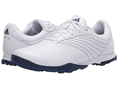adidas Golf Adipure DC2 (Footwear White/Tech Indigo/Silver Metallic) Women