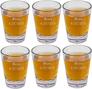engraved shot glasses