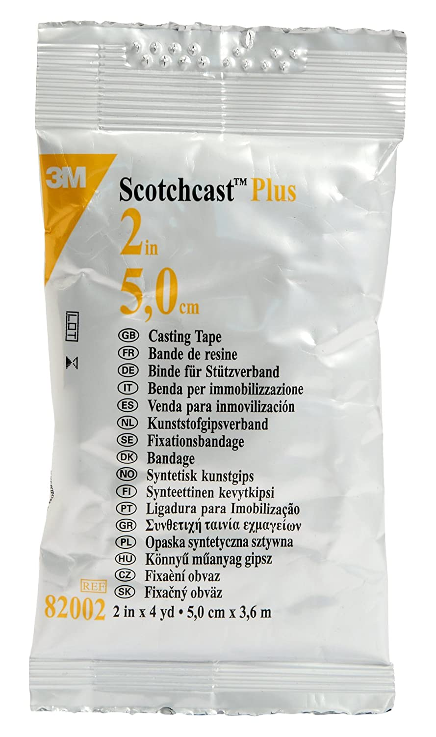 3M Scotchcast 82002 Plus Casting Tape White Max 87% OFF o low-pricing x Yard Pack 4 2