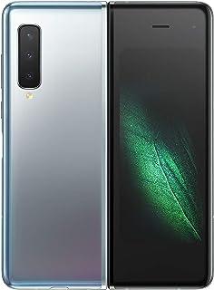 Samsung Galaxy Fold 5G Smartphone (512 GB internminne, 12 GB RAM, Dual SIM) rymdsilver