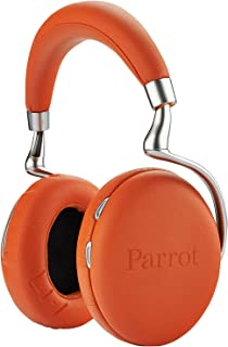 Parrot Zik 2.0 Wireless Headphones Active Noise Cancellation (Orange)