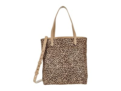 Madewell The Medium Transport Tote:Tiger Haircalf Edition (Driftwood Grey Multi) Handbags