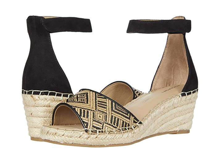 Rockport  Marah 2 Piece Ankle (Black Rafia) Womens Sandals