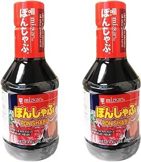 Mizkan Shabu-Shabu Dipping Sauce 8.4fl oz, 2 Pack (Ponzu)