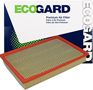 ECOGARD XA3462 Premium Engine Air Filter Fits Dodge Ram 1500 / Ram 1500, 2500 / Dodge Ram 2500 / Ram 3500 / Dodge Ram 3500 / Ram 4500, 5500