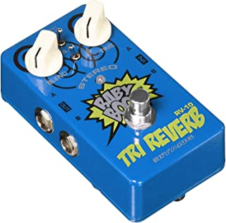 Reverb Guitar Pedal,Biyang Stereo Effects Pedal 3 Modes Hall Spring Room True Bypass Guitar Mini Multi-effects Pedal Full Metal Shell