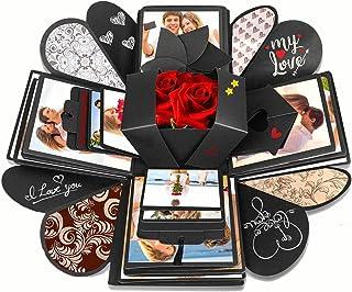 KASTWAVE Creative Explosion Gift Box, DIY - Love Memory, Scrapbook, Photo Album Box, as Birthday Gift, Anniversary, Weddin...