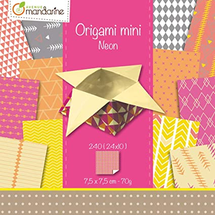 Avenue Mandarine 42683O 70 GSM Origami Paper 12 x 12 cm Pink